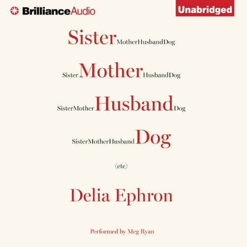 Sister Mother Husband Dog audiobook cover art
