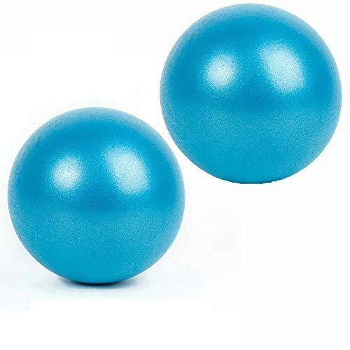 """Pelota de estabilidad para yoga, barro, entrenamiento y terapia física, azul 2, 9.8""""/25cm"""