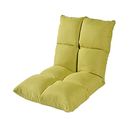TYHZ Chair Cushion Adjustable Floor Gaming Sofa Chair 6-Bad Request Cushioned Folding Lazy Recliner Bay Window Couch Tatami Padded Backrest Chair 44x21x5in Chair Pad