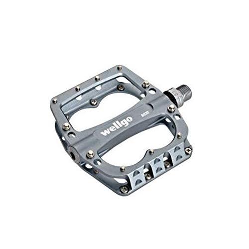 Wellgo Aluminium BMX Pedal B030 Grey, One Size
