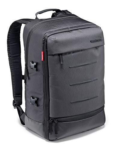 Manfrotto Manhattan Mover 30 Backpack for CSC, DSLR/Mirrorless Cameras, DJI Mavic Pro/Pro Platinum Drones, Gray