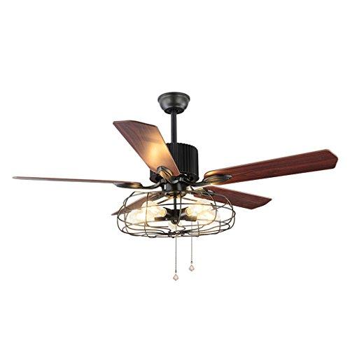 Padma moderne Plafonnier DEL avec ventilateur 80 W dimmable Ventilateur de plafond lumières avec re