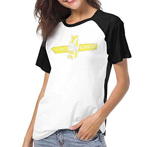 Bagew Camiseta para Mujer,Camisa Raglan Baseball T-Shirt Lyrical-Lemonade Printed Crew Neck Casual tee Tops y Blusas