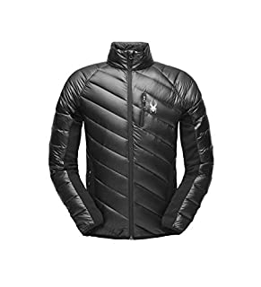 Spyder Men's Syrround Down Hybrid Full Zip Jacket, Black/Black/Black, X-Large (B077ZR85QY) | Amazon price tracker / tracking, Amazon price history charts, Amazon price watches, Amazon price drop alerts