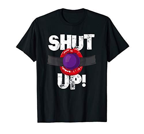 Lustiges Bondage Ballgag Fun T-Shirt