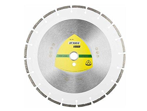KLINGSPOR 325351 Diamanttrennscheibe DT300U EXTRA für Tischkreissäge, 300 mm, Aufnahme 30 mm