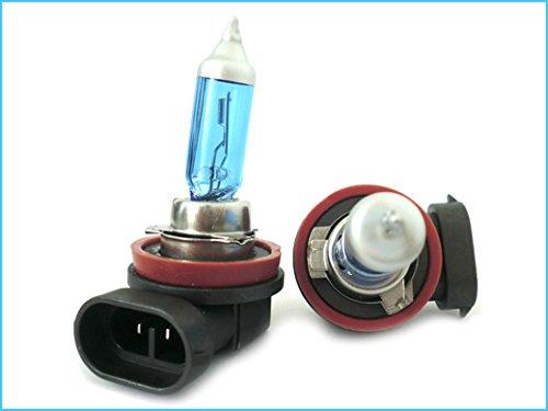 Preisvergleich Produktbild CARALL LX8012 H8 12V 55W Lampe PGJ19-1 Mit Wirkung XENON Weiß Angel Eyes