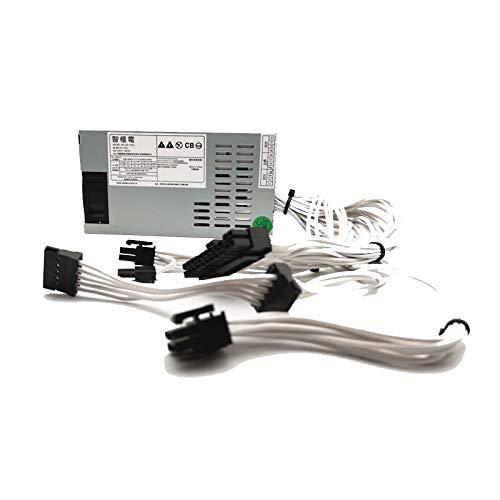500W 1U Power Supply White Soft Silicone Wire HTPC RTX2060 1080Ti i7 8700K for RYZEN PK39