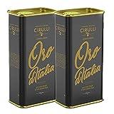 Cirulli 2 Blechdosen Olivenöl extra Natives, Evo Kalt extrahiertes italienisches (2 x 3 Liter)