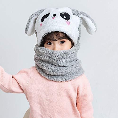 Sombrero de Invierno para niños más Gorros de Lana para niños, Gorro de Dibujos Animados para niñas, Bufanda para niños, Gorro Grueso, fotografía para recién Nacidos, Cosas para bebés-a13