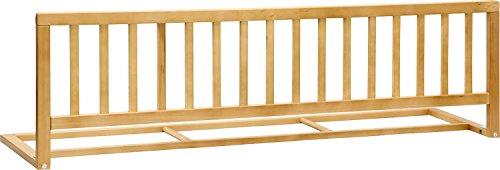 IB-Style - Barrière de sécurité de lit Flamo hêtre 140 x 42 cm en Bois Pliable | hêtre ou Blanc | Enfant bébé