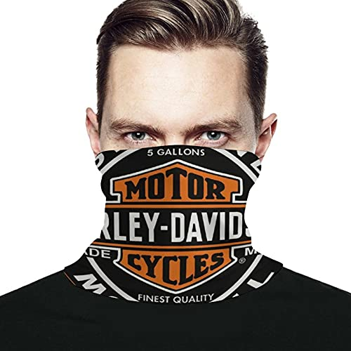 Best-design Harley Motor Cycles - Calentador de cuello de microfibra para hombre y mujer