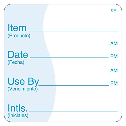 DayMark Item/Date/Use By Dissolvable Label, 3