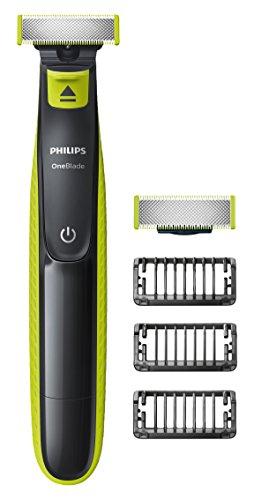 Philips OneBlade-Trimmer, 3 Längen, mit zusätzlichem Aufsatz