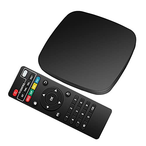 Android 10.0 TV Box, DYBITTS Android TV Box 2.4GHz / Decodificador de TV WiFi de Doble Banda de 5 GHz 2 GB de RAM Caja de Smart TV de 16 GB