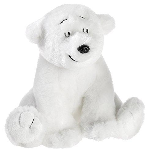 Kleiner Eisbär 635678 sitzend Plüschtier, klein
