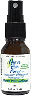 Nerve Pain Away: Homeopathic, Temporary Nerve Pain Reliever, 0.5 Fl Oz