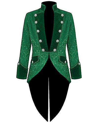 Disfraz de hombre estilo steampunk, para esmoquin, estilo victoriano, renacimiento, gótico, vintage,...