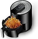 LYYJIAJU Freidora de Aire Cocina 5.5 litros Multifuncional Freyer Free Air Fryer Fryers Digital Aire Control Ajustable Control de Temperatura Smart Fries Máquina