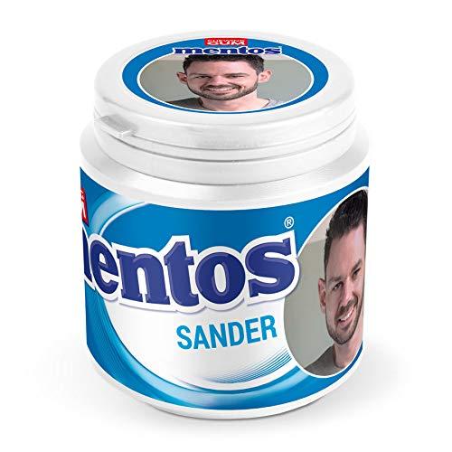 Persoonlijke etiketten voor jouw Mentos kauwgumpot