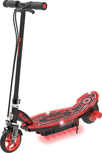 Razor Power Core E90 Glow Electric Scooter - Black/Red Glow - FFP