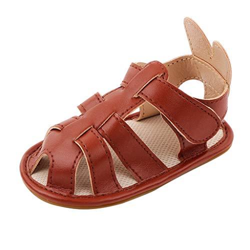 YWLINK Zapatos Bebe NiñO Verano Xinantime Lona Sandalias De Velcro Suela Blanda Zapatos del Antideslizante Zapatos Casuales Sneaker para ReciéN Nacido NiñA NiñO