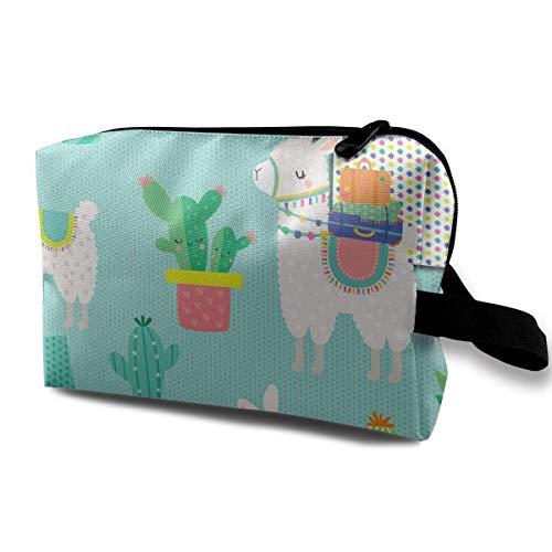Llama and Cactus Receive Bag Capacity Bags Storage Capacity Bags
