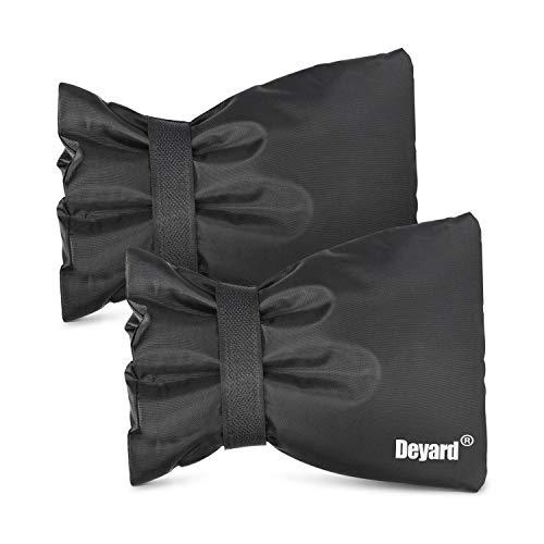 Deyard Outdoor Wasserhahn Abdeckung Socken Wasserhahn Freeze Schutz Socken für Winter Außerhalb Frostschutz Tap Abdeckung [2 stücke]