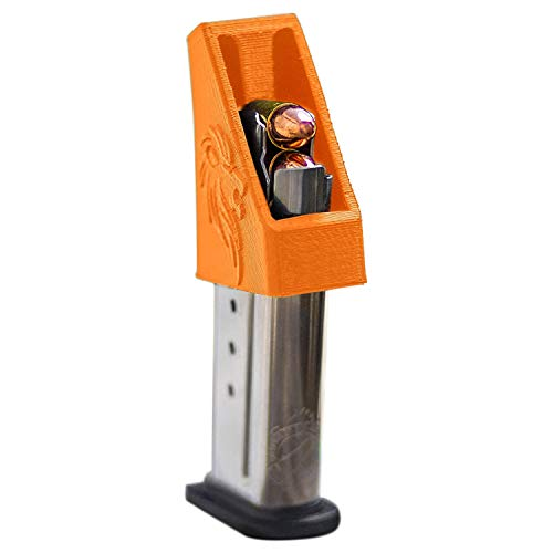 RAEIND Magazine Speedloader for MampP Shield Springfield XDS Ruger LCP Sig 938 All Colt 1911 Single Stack 9mm 40 45 ACP Pistols RAE702 Orange