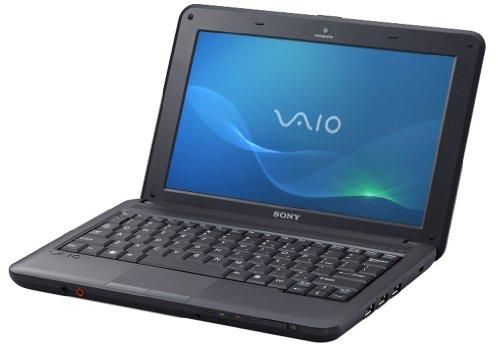 Sony Vaio M11M1E 25,7 cm (10,1 Zoll) Netbook (Intel Atom N450 1,6GHz, 1GB RAM, 250GB HDD, Intel GMA 3150, Win 7 Starter) schwarz