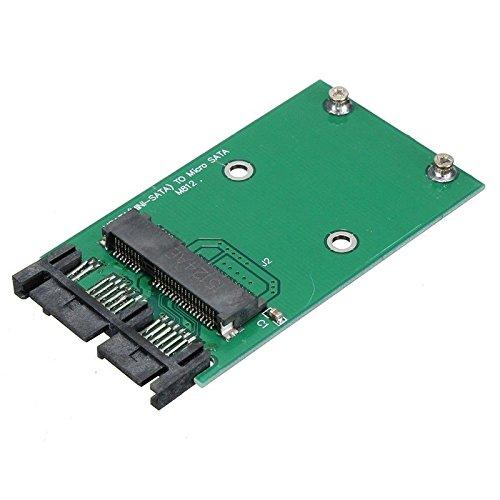 LeHang Mini PCI-e mSATA SSD a módulo de Tarjeta convertidora adaptadora Micro-SATA...