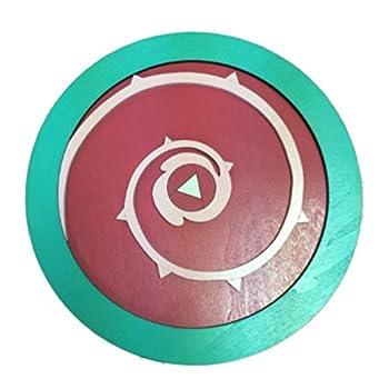 AllTru2U Child s Size 14  Steven Universe Shield | Handmade Wooden Toy Shield for Pretend Play | Made in The USA | Rose Quartz Shield for Kids