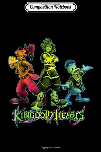Composition Notebook: Disney Kingdom Hearts posing  Journal/Notebook Blank Lined Ruled 6x9 100 Pages