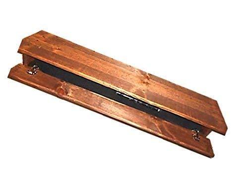 Wooden Fireplace Mantle Shelf Hidden Compartment