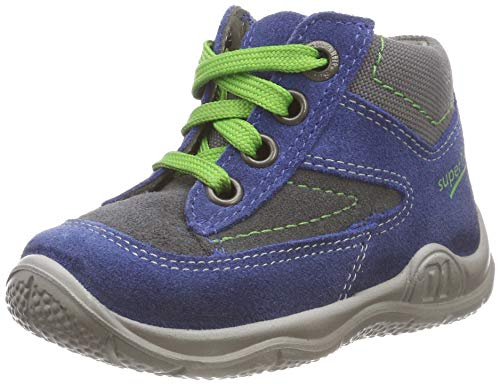 Superfit Baby Jungen Universe Sneaker, Blau (Blau/Grau 81), 21 EU