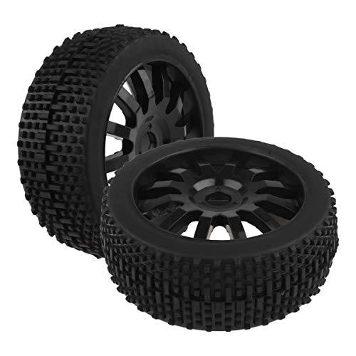 STOBOK 2Pcs Rc Autoreifen Buggy Räder Mini Offroad Reifen Gummireifen Auto Spielzeug Räder Auto Spielzeug Teile für Kinder Kinder