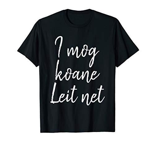 Ich hasse Menschen witziger Spruch im bayrischen Dialekt T-Shirt