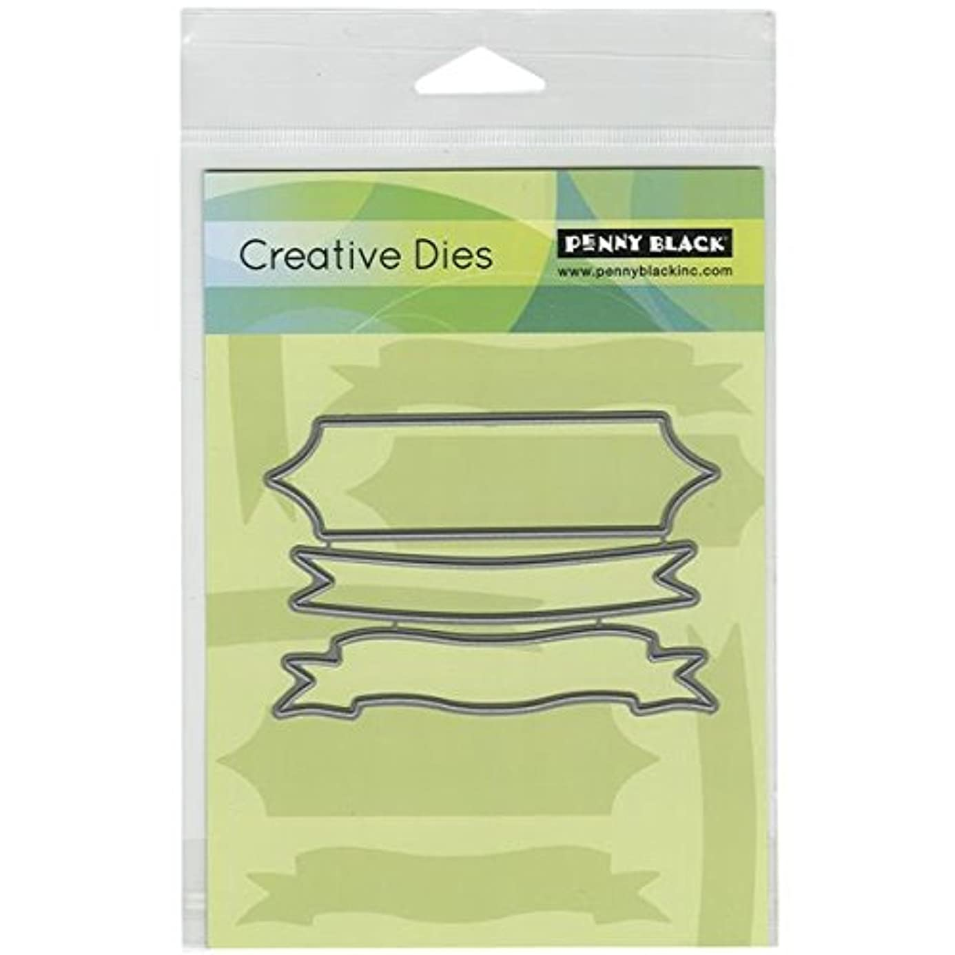 Penny Black Triple Banner Decorative Dies owh7524356