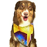 RAHJK Bandana para Perro, Pañuelos para Perro, Reversibles, Ajustables, Triangulares, Bufandas para Mascotas y Gatos Hongo Mágico