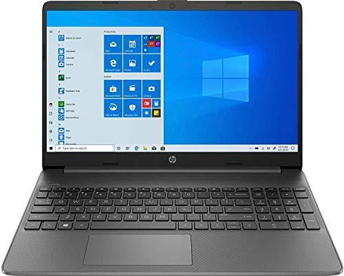 HP 15s du2058tu 15.6-inch Laptop (Core i3-1005G1/4GB/1TB HDD/Windows 10 Home/Intel UHD Graphics), Jet Black