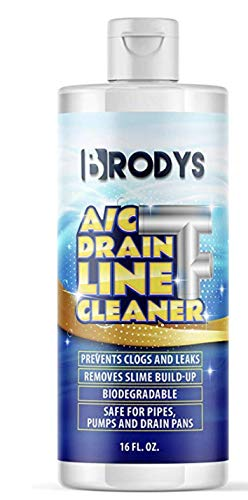 Brodys - A/C HVAC Drain Line Cleaner, 16oz Bottle, (2 Month Supply)