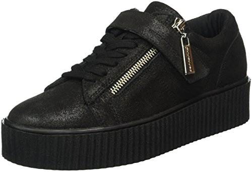 Fornarina Damen Tina Sneakers, Schwarz (0000), 38