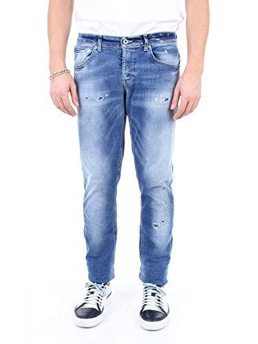 Luxury Fashion | Dondup Heren UP232DS0169UU63JEANSCHIARO Donkerblauw Katoen Jeans | Seizoen Outlet