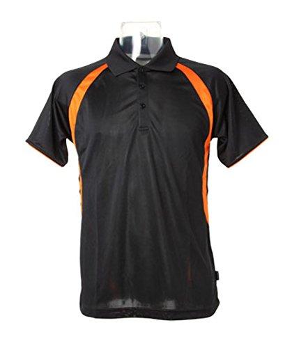 GAMEGEAR Cooltex Riviera Polo Kk974 Noir/Orange XL