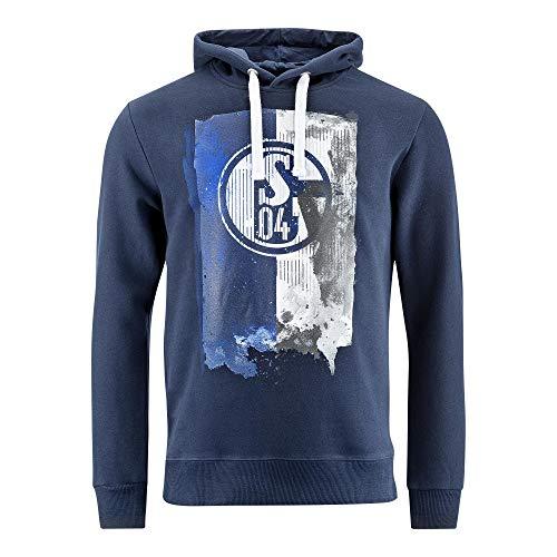 FC Schalke 04 Kapuzen Sweat Flagge Gr. S - 4XL (L)