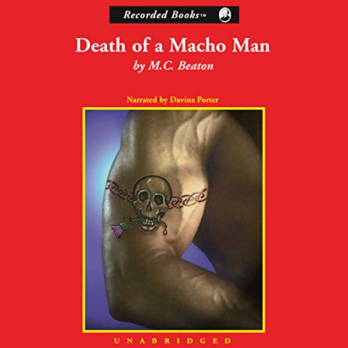 Death of a Macho Man audiobook cover art