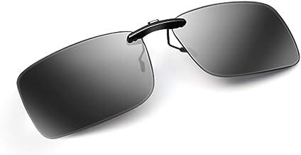AoHeng Polarized Clip On Sunglasses Over Glasses for Men Women UV Protection