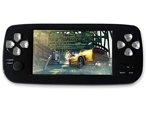 Handheld Retro Game Console PAP-KIII, Build-in 4.3' 3000 Games, Portable Game Console, Support GBA / GBC...