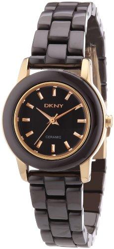 DKNY Damen-Armbanduhr XS Analog Quarz Keramik NY8428