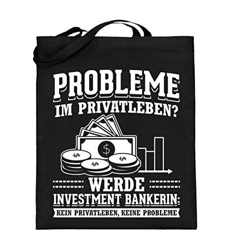 Chorchester Investmen-Bankerinnen Ohne Privatleben - Jutebeutel (mit langen Henkeln)
